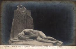 SALON DE  1909  ORPHEE AU TOMBEAU D EURYDICE - Museum