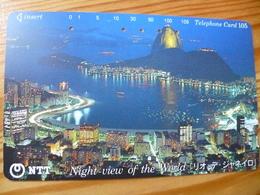 Phonecard Japan 291-225 Rio De Janeiro - Giappone