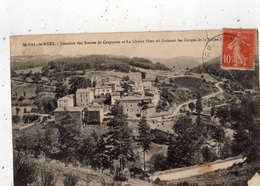SAINT-PAL-DE-MURS JONCTION DES ROUTES DE CRAPONNE ET LA CHAI-DIEU OU FINISSENT LES GORGES - France