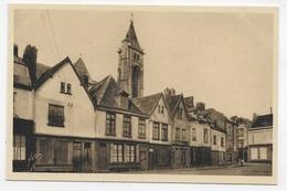 AMIENS - N° 18 - PLACE FAUVEL ET CLOCHER DE SAINT GERMAIN - CPA NON VOYAGEE - Amiens