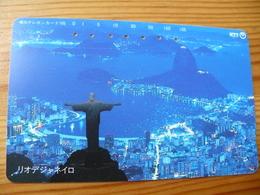 Phonecard Japan 231-244 Rio De Janeiro, Brasil - Giappone