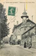 95 SAINT LEU TAVERNY - ETABLISSEMENTDE LA SOURCE MERY (attention Trace De Plis En Haut A Gauche) - Saint Leu La Foret