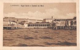 Italia - LIVORNO, Bagni Garbin E Spadoni Dal Mare - Livorno