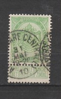 COB 83 Oblitéré ANVERS (Gare Centrale) - 1893-1907 Wappen