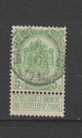 COB 83 Oblitéré MAREDRET (SOSOYE) - 1893-1907 Wappen