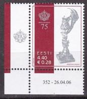 Estland 2006, 554, 75 Jahre Estnischer Schützenverband. MNH ** - Estonia