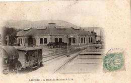 LANGEAC LE DEPOT DES MACHINES P.L.M. - Langeac