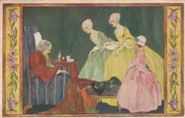 187850Rie Cramer, Au Bon Vieux Temps, La Visite Au Malade. (1926) - Illustrators & Photographers