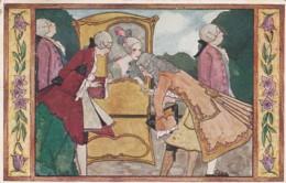 187852Rie Cramer, Au Bon Vieux Temps, Le Palanquin (1926)(zie Hoeken En Randen) - Illustrators & Photographers