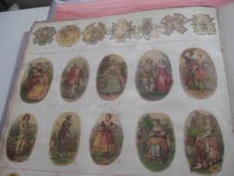 DOPTER Album De L'imprimeur, Seulement ET Toutes Ces DECALCOMANIES De 1870 à C1880 Notices Nummérotés RRR - Albums & Catalogues