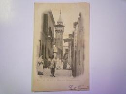 TUNIS  :  Rue Des  TEINTURIERS   1902   XXX - Tunisie