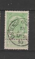 COB 83 Oblitéré OSTENDE (Kursaal) - 1893-1907 Wappen