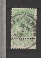 COB 83 Oblitéré ANVERS 6 L - 1893-1907 Wappen
