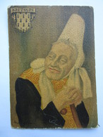 André Stéfan, Personnage Traditionnel, Coiffe De La Région De Pont-l'Abbé, Bretagne - Künstlerkarten