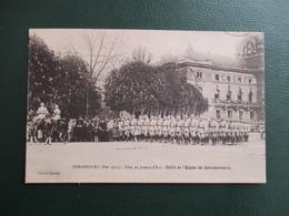 CPA 67 STRASBOURG 1921 FETE DE JEANNE D'ARC DEFILE ECOLE DE GENDARMERIE - Strasbourg