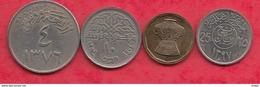 Autres-Afrique 4 Pièces Dans L 'état Lot N °6 - Monnaies