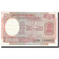 Billet, Inde, 2 Rupees, 1976, KM:79d, TTB - Inde