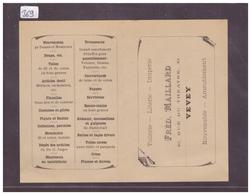 DISTRICT DE VEVEY - VEVEY - LITERIE DRAPERIE FRED. MAILLARD - TB - VD Vaud