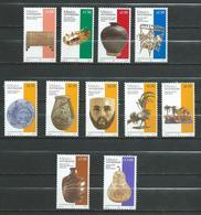 Mexico - Lot 11 Stamps MNH - Handicrafts Motive - Mexico