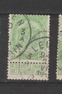 COB 83 Oblitéré LOUVAIN 3 A - 1893-1907 Wappen