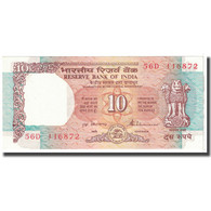 Billet, Inde, 10 Rupees, 1992, KM:88a, SPL - Inde