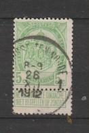 COB 83 Oblitéré ST-JOSSE-TEN-NOODE 1 - 1893-1907 Wappen