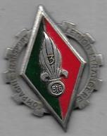 3 - 516e Cie Transport Légion Etrangère - Insigne émaillé Drago O.M. Déposé - Army