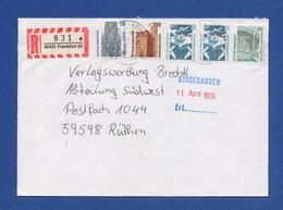 Bund R-Brief Einschreiben MiF - FRANKFURT - BRD