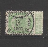COB 83 Oblitéré BRUGES 3 D - 1893-1907 Wappen