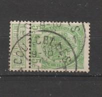 COB 83 Oblitéré COURCELLES - 1893-1907 Wappen