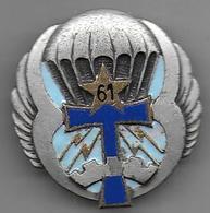 61e Bataillon De Comt Et Transmissions - Insigne émaillé Drago 2463 - Army