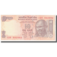 Billet, Inde, 10 Rupees, 2007, KM:95c, NEUF - Inde