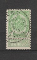 COB 83 Oblitéré GAND 2 D - 1893-1907 Wappen