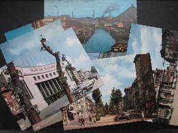 LOT 8 CP BELGIQUE (V1714) CHARLEROI (2 Vues) Palais Des Beaux-Arts, Jules Destrée, Métro, St Christophe, Avenue De Water - Charleroi