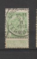 COB 83 Oblitéré TERMONDE - 1893-1907 Wappen
