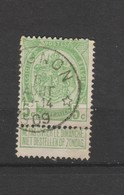 COB 83 Oblitéré Relais CUGNON - 1893-1907 Wappen