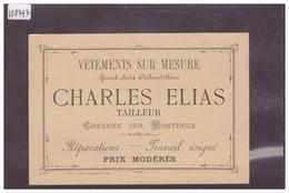 DISTRICT DE VEVEY - CHERNEX SUR MONTREUX - CHARLES ELIAS, VETEMENTS SUR MESURE - TB - VD Vaud