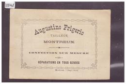 DISTRICT DE VEVEY - MONTREUX - AUGUSTINO FRIGERIO, TAILLEUR - TB - VD Vaud