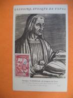 Carte Maximum France  1939  N° 442 Georgius Florentius  Dit  Grégoire De Tours - Maximumkaarten
