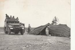Rare Photo Originale Guerre Algérie Half Track à Valmy Le 17-06-62 Opération De Recherche 18 X 13 Cm - 1939-45