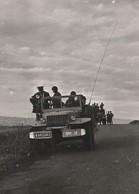 Rare Photo Originale Guerre Algérie Dodge Patrouille De Nuit Dans Les Environs De Lartigue 18 X 13 Cm - 1939-45