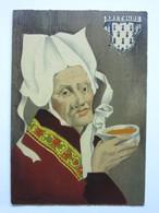 André Stéfan, Personnage Traditionnel, Coiffe De La Région De Plougastel-Daoulas, Bretagne - Künstlerkarten