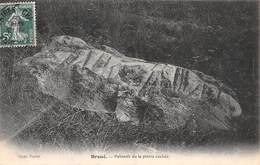 Pie-19-001 : DROUE LOIR ET CHER. POLISSOIR DE LA PIERRE COCHEE. HACHE POLIE. ARCHEOLOGIE. PREHISTOIRE. - Dolmen & Menhirs