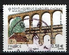 Pont Aqueduc N°4503 Oblitéré Année 2010 - France