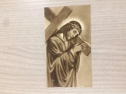 Santino Gesu' Cristo In Ricordo Della Santa Missione Cella Chiesa Parrocchiale Di Vilmaggiore (bg) - Santini