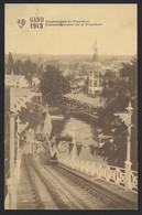 GENT * 1913 * PANORAMA GENOMEN VAN DE WATERCHUTE * EXPO 1913 - Gent