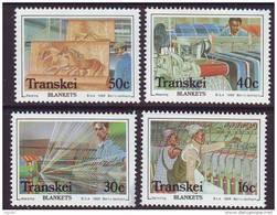 D101225 Transkei 1988 South Africa BLANKET MANUFACTURE MNH Set - Afrique Du Sud Afrika RSA Sudafrika - Transkei