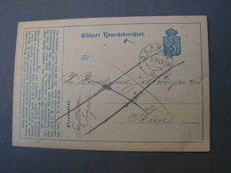 Norge Drammen Karte 1887 - Ganzsachen