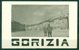 CARTOLINA - GORIZIA - Z1329  (GO) Prima Guerra Mondiale WW1 Veduta Di Una Piazza Con Militari, FP, Non Viaggiata, - Gorizia