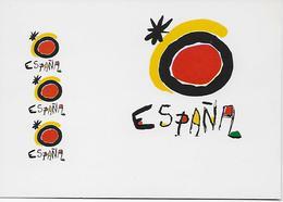 España - Logotipo Para O Turismo Espanhol Desenhado Por JUAN MIRÓ. - Publicité